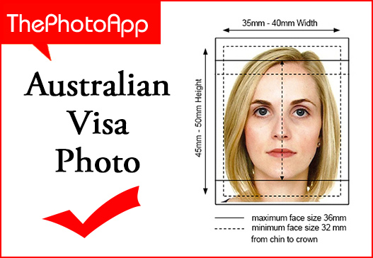 Australian visa photo Plymouth