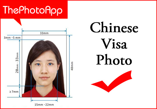chinese visa photos